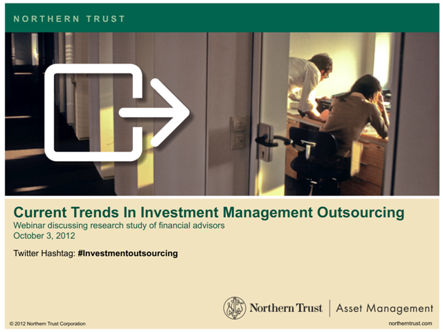Current Trends In Investment Management Outsourcing