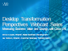 Measuring Business Value and Savings with Cisco Virtualization Experience Infras