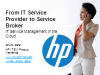 From IT Service Provider to Service Broker
