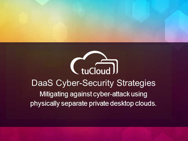 Mitigating Cyber Security Risk with Cloud Desktops