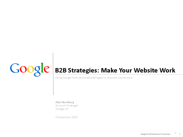 B2B Strategies: How to make your website work