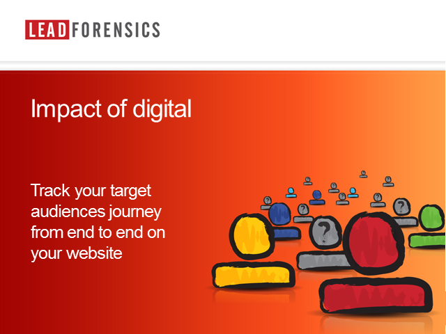 Track your target audience's journey from end to end on your website
