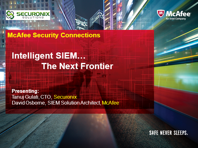 Reduce Deployment Costs with Next Generation SIEM and Security Intelligence