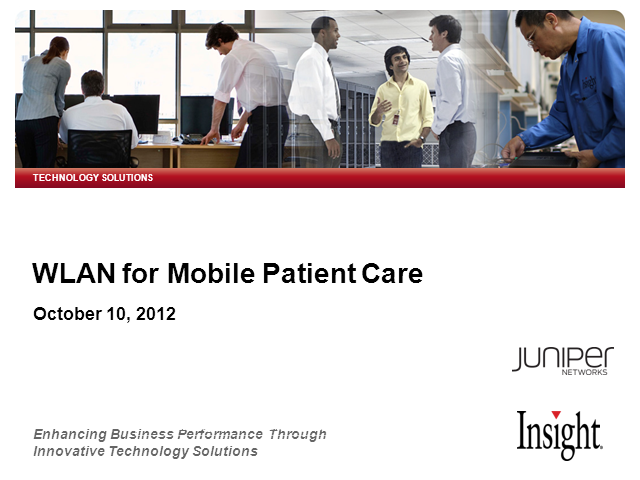 WLAN for Mobile Patient Care Free Webinar