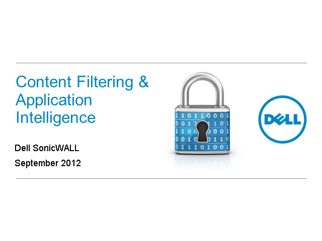 Web Content Filtering & Application Intelligence
