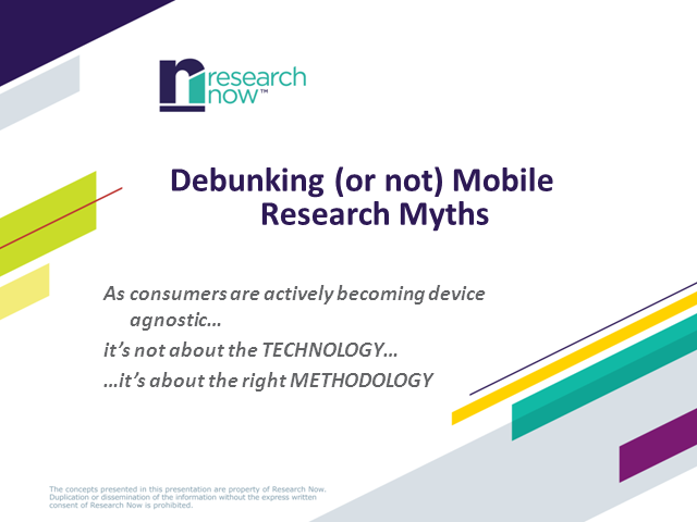 Debunking (or not) mobile research myths