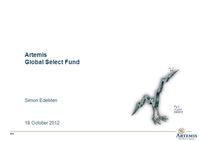 Artemis Global Select Fund Webcast