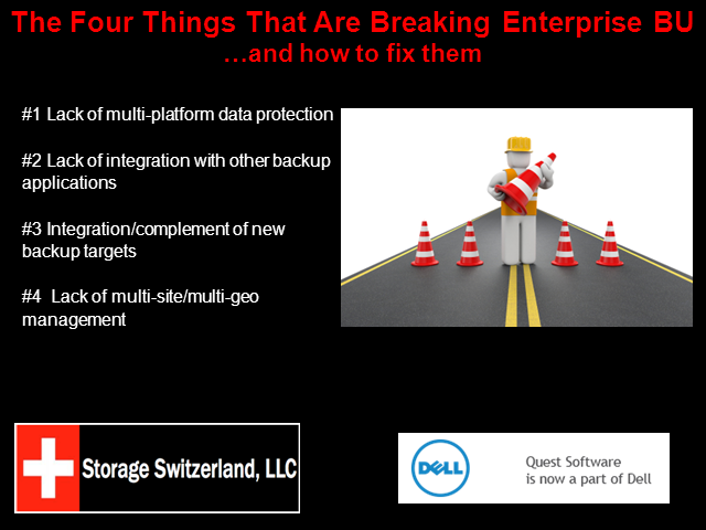 The Four Things That Are Breaking Enterprise Backup