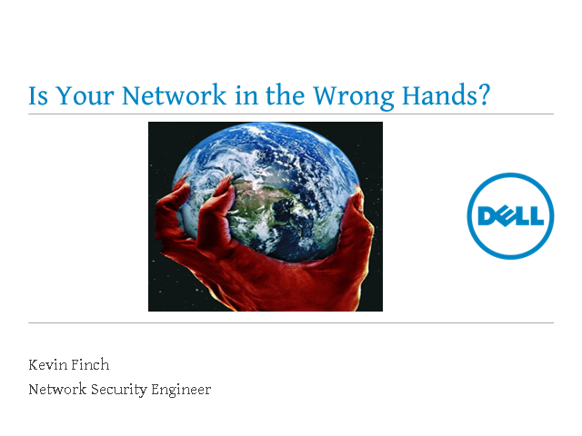 Is your network in the wrong hands?