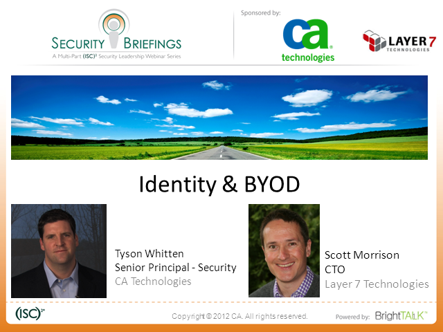 ­Identity is the New Perimeter Part 4: Identity and BYOD