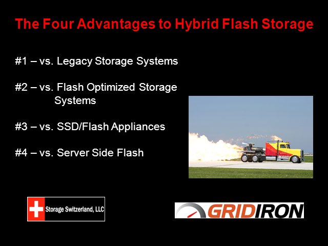 The Four Advantages of Hybrid Flash Arrays