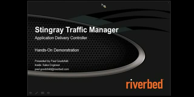 Riverbed Stingray – Faster, Reliable, Secure Applications in the Cloud or DC