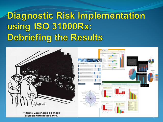 Diagnostic Risk Implementation: Debriefing a diagnostic of an organis