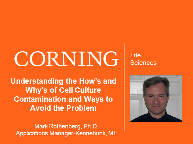 Understanding the How's and Why's of Cell Culture Contamination and Ways to Avoi