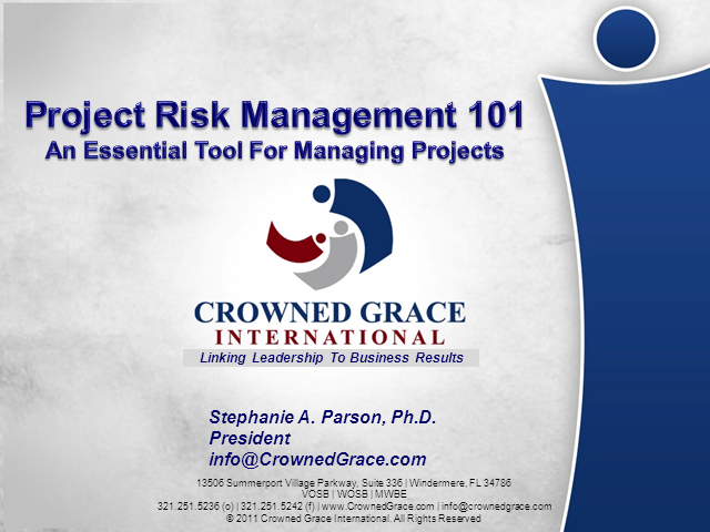 Risk Management - 101