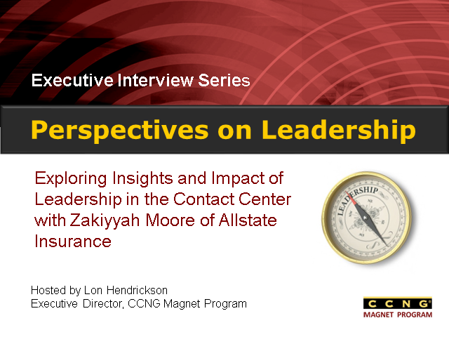 Perspectives on Leadership with Zakiyyah Moore of Allstate