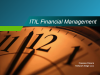 ITIL V3 Financial Management