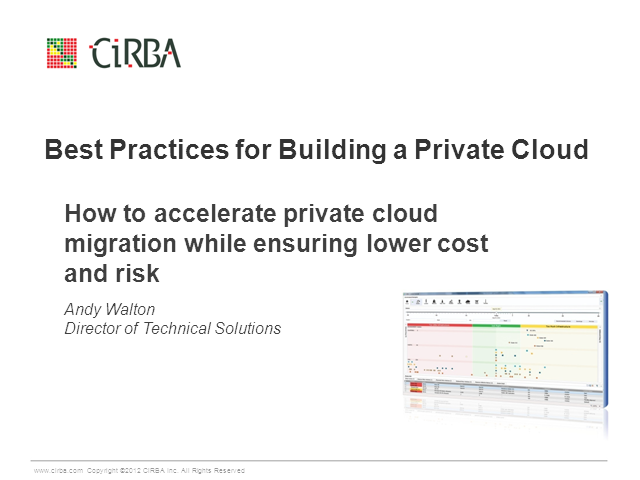 How to Accelerate Private Cloud Migration While Ensuring Lower Cost and Risk