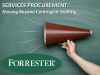 Services Procurement - Moving Beyond Contingent Staffing