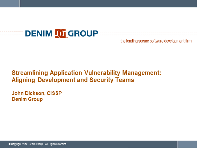 Streamlining App Vulnerability Management: Aligning Dev and Security Teams