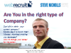 Are you in the right type of company?