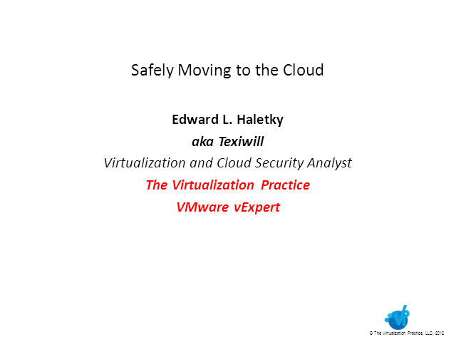 Safely Moving to the Cloud