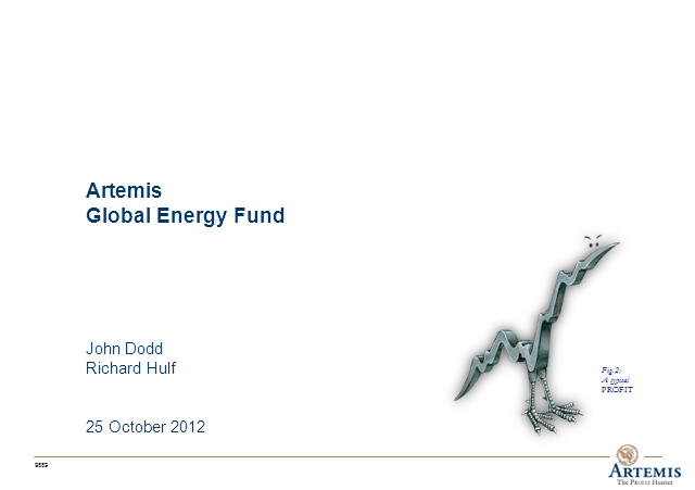 Artemis Global Energy Fund Webcast