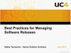 Best Practices for Managing Software Releases
