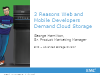 3 Reasons Web and Mobile Developers Demand Cloud Storage