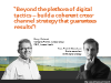 Beyond the plethora of digital tactics – build a coherent cross-channel strategy
