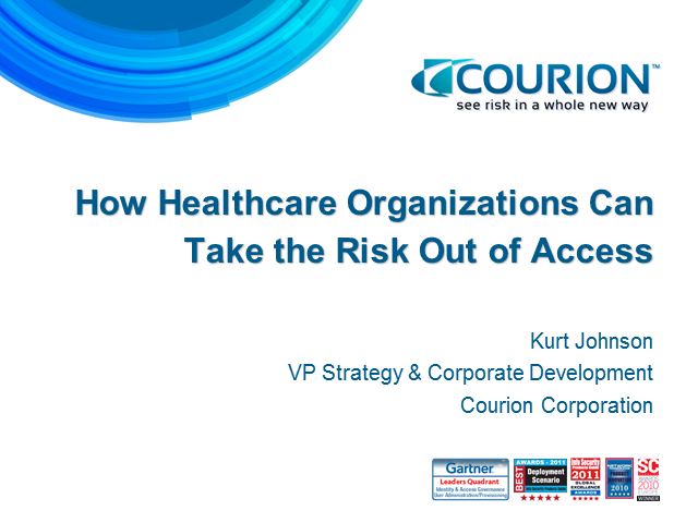 How Healthcare Organizations Can Take the Risk out of Access