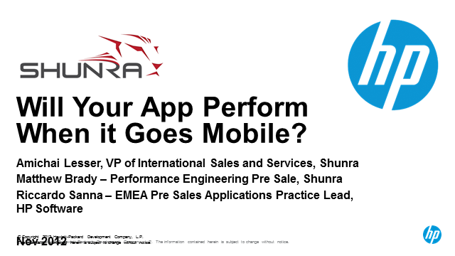 Is your mobile application ready to perform?