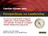 Perspectives on Leadership with Jennifer Richard, MPRS