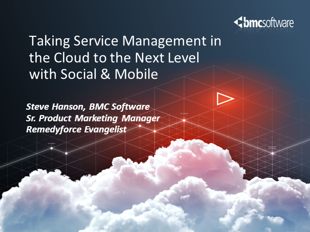 Taking Service Management in the Cloud to the Next Level with Social and Mobile