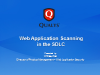 Web Application Scanning in the SDLC