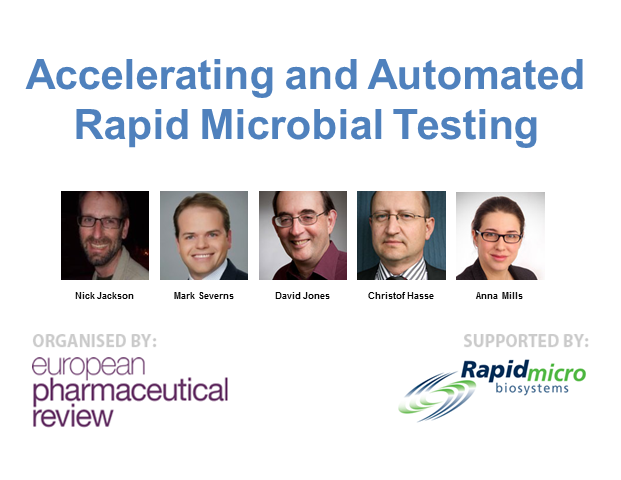 Accelerating and Automated Rapid Microbial Testing