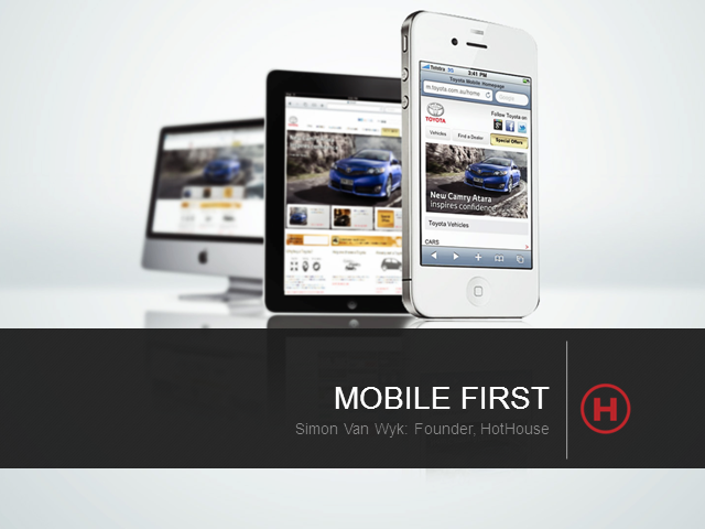 Mobility: How to make 'Going Mobile' work