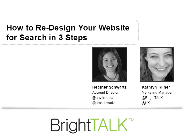 How to Re-Design Your Website for Search in 3 Steps