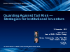 Guarding against Tail Risk – Strategies for Institutional Investors