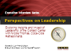 Perspectives on Leadership with Nicole Thomas, Coca-Cola Refreshments