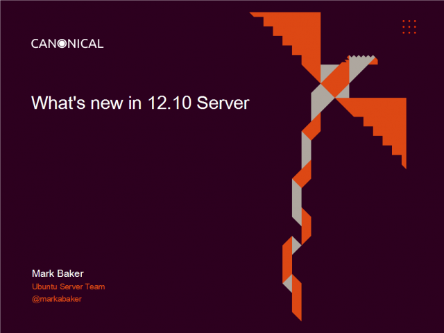 New features in Ubuntu 12.10, the world's most cloud-friendly OS