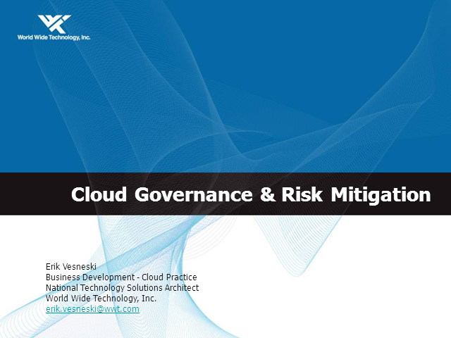 Maintaining Compliance in Your Public, Private or Hybrid Cloud