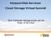 Tame Distributed Storage Growth with the Power of the Cloud