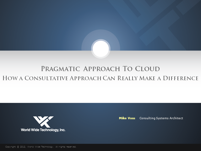 How a Consultative Approach Can Really Make a Difference for the Cloud