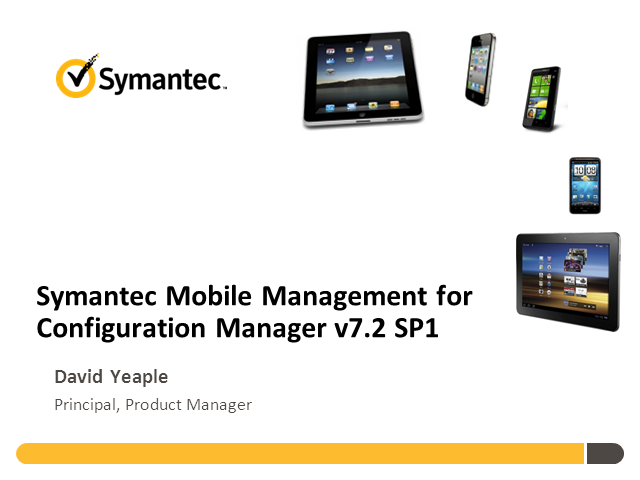 Mobile Management for Microsoft System Center Configuration Manager