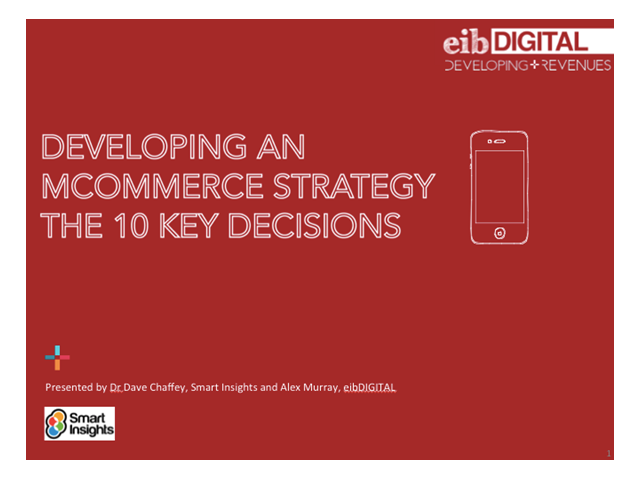 10 key mobile commerce decisions for 2013