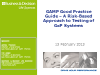 The new GAMP Testing Good Practice Guide