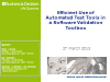Efficient Use of Automated Test Tools in Software Validation