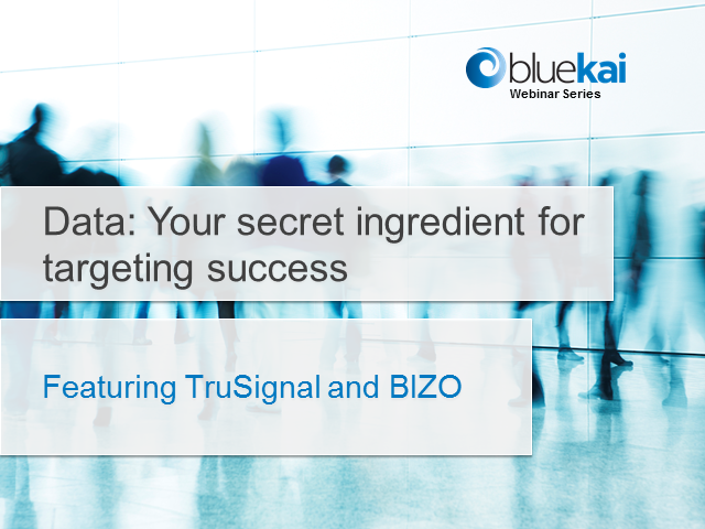 Introduction to BIZO and TruSignal Audience Data