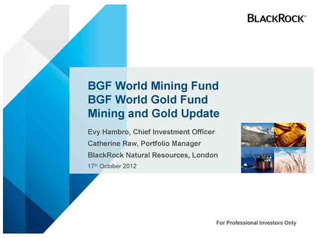 A gold and mining update